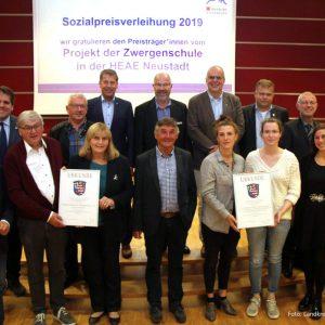Überraschung bei der Verleihung des Sozialpreises