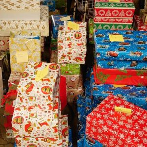 Weihnachten in der Erstaufnahmeeinrichtung in Neustadt